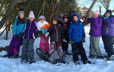 Snowshoes help Cunniff students capture love of gym outdoors