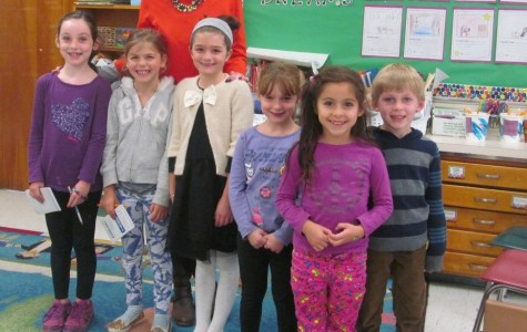 Olivia Cifrino happy to be teaching second-graders at Cunniff Elementary
