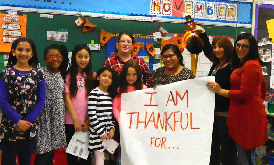 Cunniff+Kids+News+reporters+interviewed+18+staff+members+at+Cunniff+Elementary+School+in+Watertown%2C+Mass.%2C+in+search+of+people%27s+favorite+food+at+Thanksgiving.
