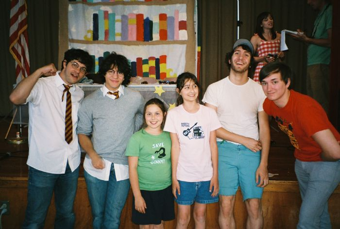 The Cunniff Kids News caught up with (from left) Harry and the Potters' Paul and Joe DeGeorge and Math the Band's Kevin Steinhauser and Zach Burba before their North American tour, Unlimited Enthusiasm Expo '08.