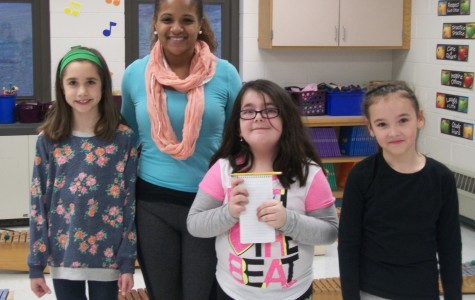 Cunniff Girl Scouts making the world a better place