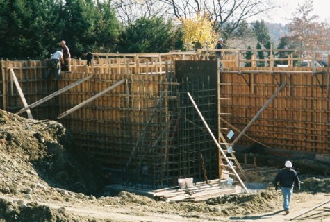 The future home of the Watertown Police Department headquarters on Nov. 12, 2008.