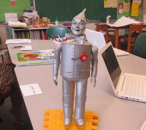 Lauren Kale's class at Cunniff Elementary has been working on its Wizard of Oz project throughout October.