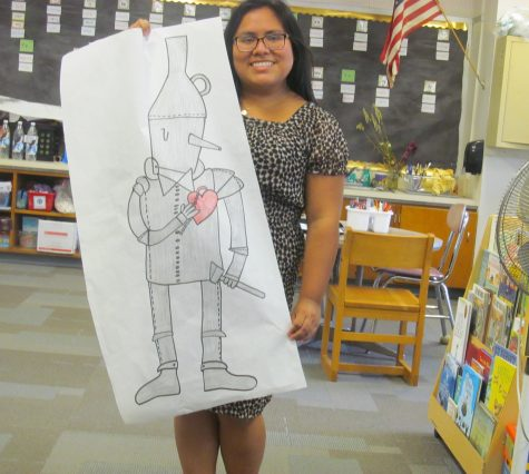 Lauren Kale's class has been working on its Wizard of Oz project throughout October.