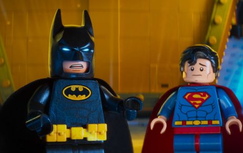 Batman (voiced by Will Arnett) and Superman (Channing Tatum) are part of the fun in