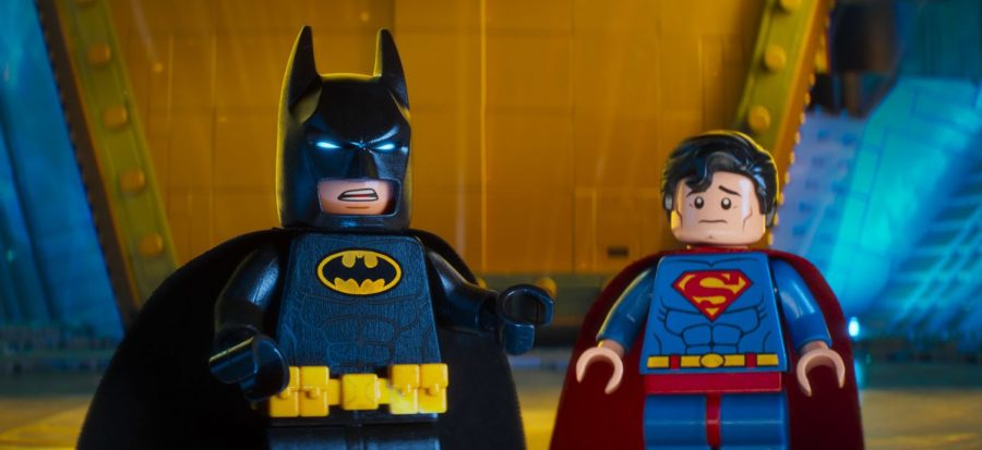 Batman+%28voiced+by+Will+Arnett%29+and+Superman+%28Channing+Tatum%29+are+part+of+the+fun+in+%22The+Lego+Batman+Movie%22.