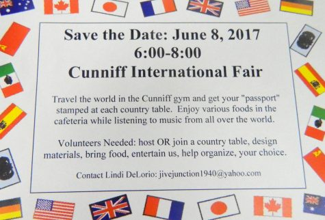 People will be coming from around the world to the first International Night at Cunniff Elementary School in Watertown, Mass., on Thursday, June 8, 2017.