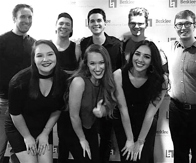 The Cycle competed at the New England a cappella semifinals at Berklee Performance Center on July 29, 2017.