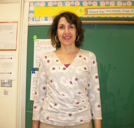 Debbie Munger a teacher at Cunniff Elementary School