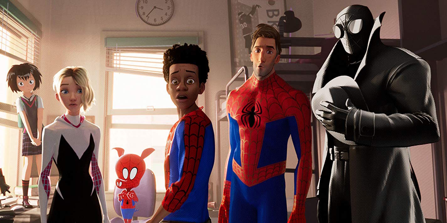 "There are many people acting like Spider-Man in ""Spider-Man: Into the Spider-Verse"","