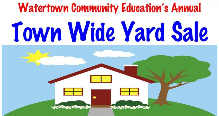 Sign up for the 2019 Town Wide Yard Sale!