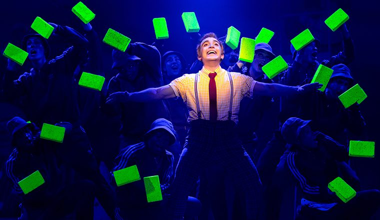 SpongeBob+SquarePants+and+his+friends+come+to+life+in+%22The+SpongeBob+Musical%22+at+the+Wang+Theatre%2FBoch+Center+in+Boston+through+Oct.+27%2C+2019.
